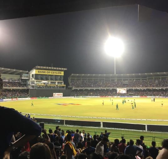 cricket in colombo sri lanka